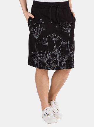 Černá sukně s potiskem SAM 73