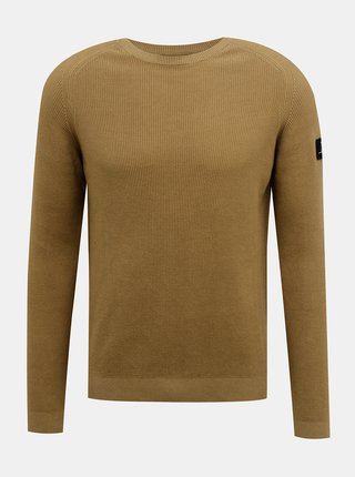 Hnedý sveter Redefined Rebel