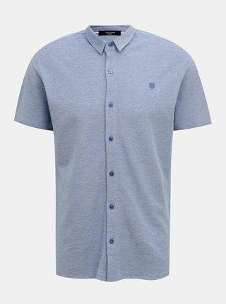 Modrá košile Jack & Jones Jace