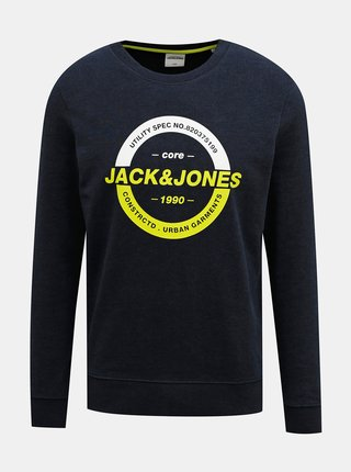 Tmavě modrá mikina Jack & Jones Strong