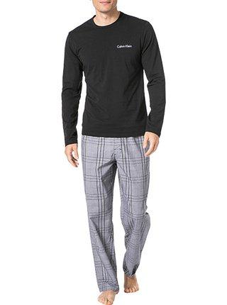 Calvin Klein černé pánské pyžamo Black
