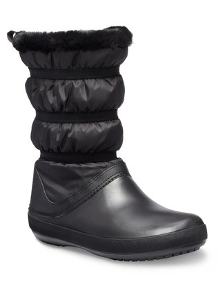 Crocs černé sněhule Crocband Winter Boot Black