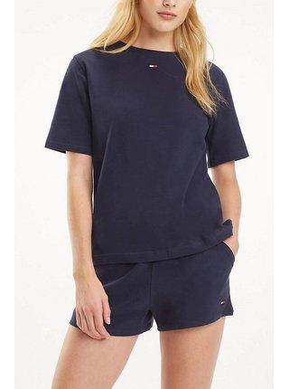 Tommy Hilfiger tmavě modré oversize tričko BN TEE HALF