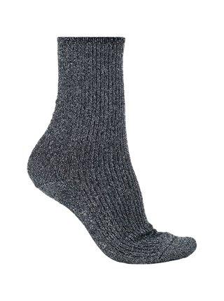 Tommy Hilfiger černé třpytivé ponožky Glitter