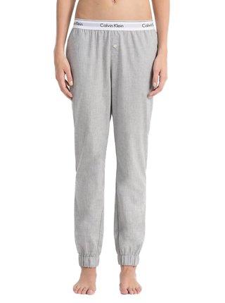 Calvin Klein šedé domací kalhoty Jogger