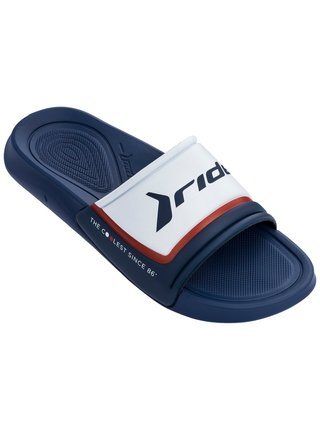 Rider modré unisex pantofle Infinity Light Slide Ad Blue/Blue/White
