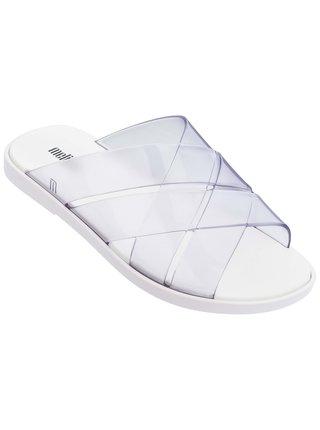 Melissa bílé pantofle Breeze White/Clear