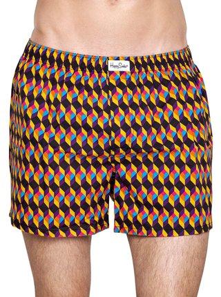 Happy Socks barevné trenýrky Optic Square Boxer