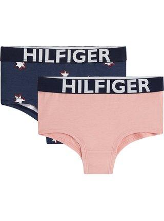 Tommy Hilfiger barevný 2 PACK kraťáskových kalhotek 2PK Shorty Stars