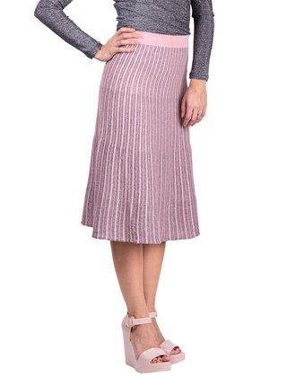 Anany růžovo-stříbrná sukně Marbella Rosa