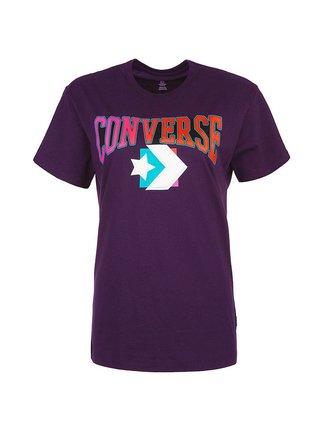 Converse fialové tričko Warmth Pack tee