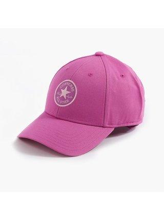 Converse růžová kšiltovka s logem