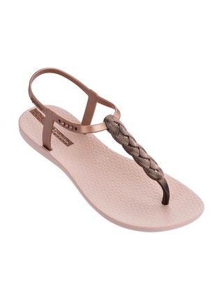 Ipanema pudrové sandály Charm VI Light Pink/Rose