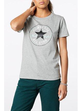 Converse šedé tričko s logem