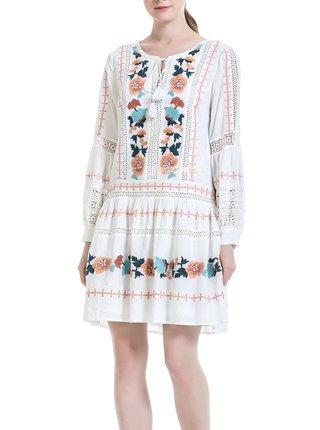 Anany bílé šaty Puebla Blanco