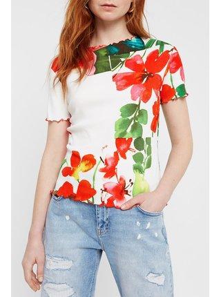 Desigual barevné tričko TS Summer Garden