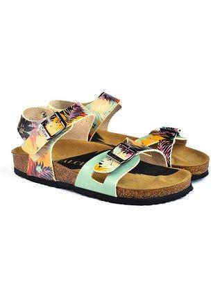 Calceo barevné sandály Classic Sandals Tropical