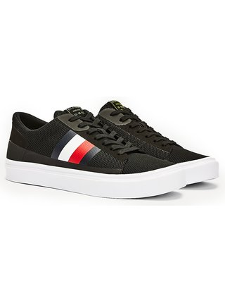 Tommy Hilfiger černé tenisky Lightweight Signature Colour-Blocked Trainers