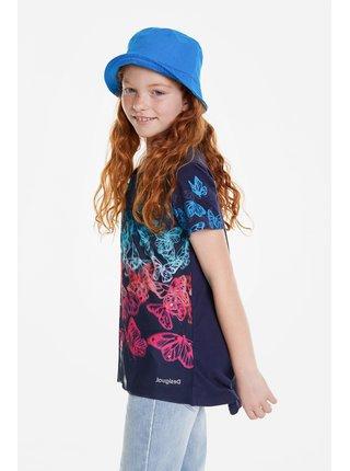 Desigual modré dívčí tričko Newport