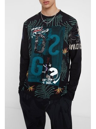 Desigual barevné pánské tričko TS Merce