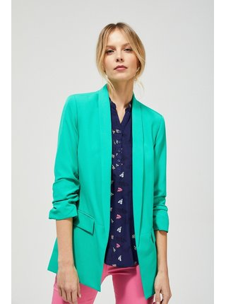 Moodo zelené dámské sako
