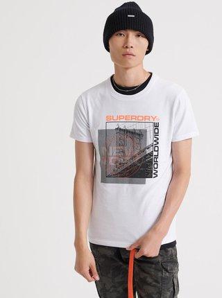 Tricouri pentru barbati Superdry - alb