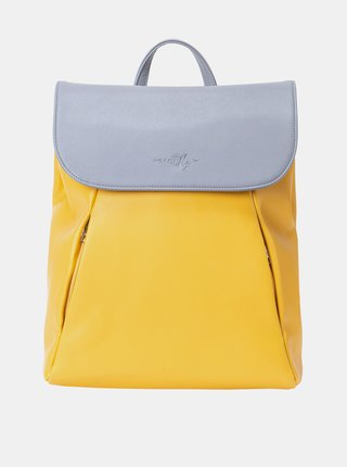 Žlutý dámský batoh Meatfly Triumph