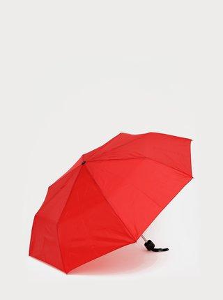 Červený skladací dáždnik Doppler