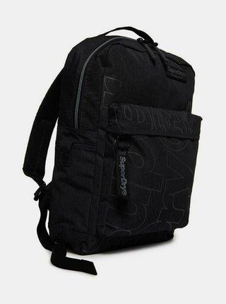 Černý batoh Superdry