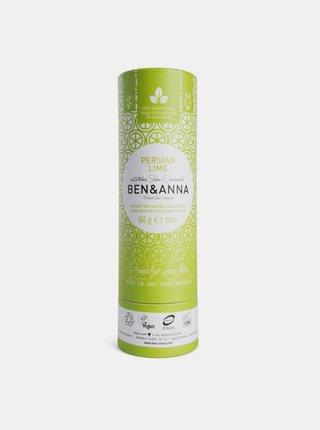 Tuhý deodorant BIO - Perská limetka 60 g Ben & Anna