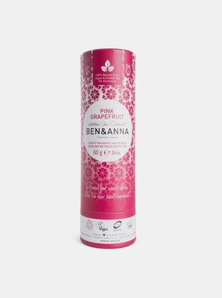Tuhý deodorant BIO - Růžový grapefruit 60 g Ben & Anna