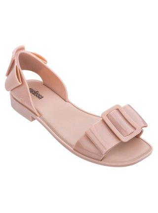Melissa pudrové sandály Aurora Pink