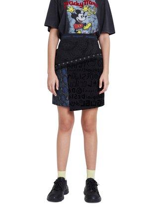 Desigual černá sukně Fal Estocolmo