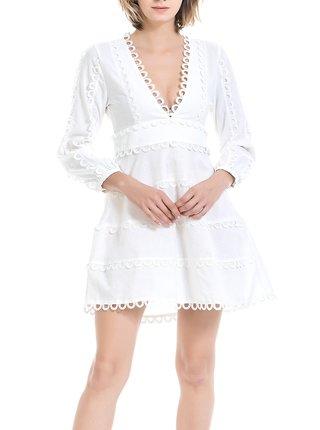 Anany bílé letní šaty Natal Blanco