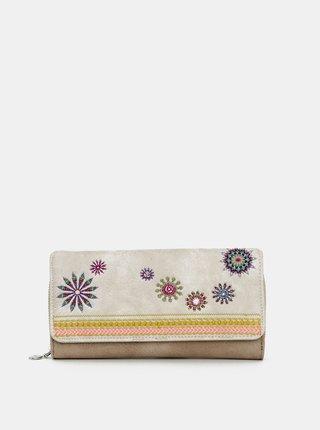Béžová peněženka Desigual