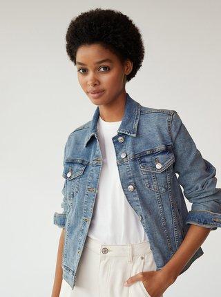 Modrá džínová bunda Mango