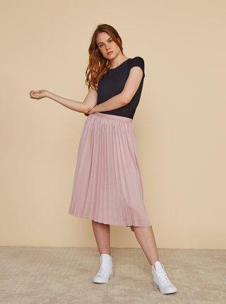Světle růžová plisovaná sukně ZOOT Petra