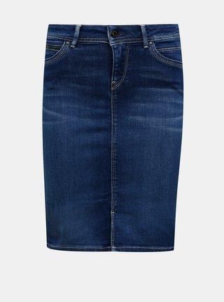Modrá džínová sukně Pepe Jeans