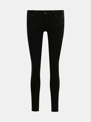 Čierne dámske skinny fit rifle Pepe Jeans