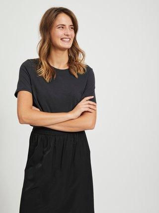 Černé basic tričko .OBJECT Annie