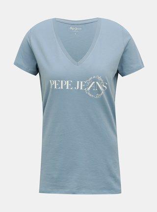 Tricouri pentru femei Pepe Jeans - albastru