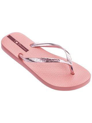 Ipanema růžové žabky Glam Fem Pink/Metalic Pink