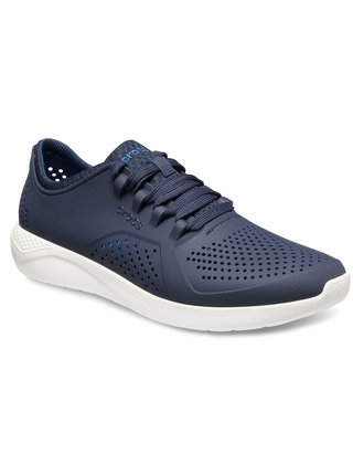 Crocs tmavě modré unisex tenisky Literide Pacer Navy/White