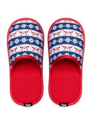 Slippsy barevné unisex domácí pantofle Nordic