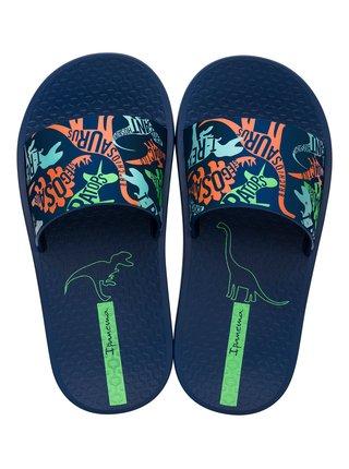 Ipanema modré chlapecké pantofle Urban Slide Kids Blue
