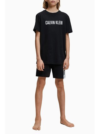 Calvin Klein černé chlapecké tričko Tee
