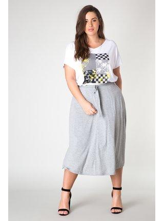 Yesta bílé dámské tričko Judith s barevnými motivy