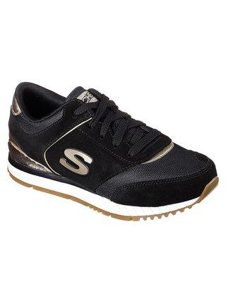 Skechers černo-zlaté tenisky Sunlite Revival