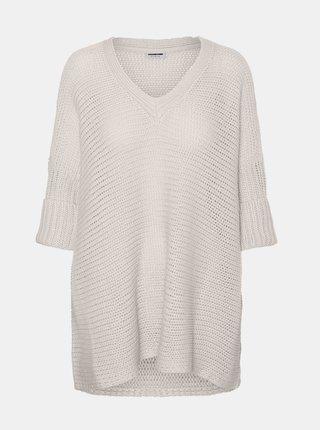 Béžový sveter Noisy May Vera