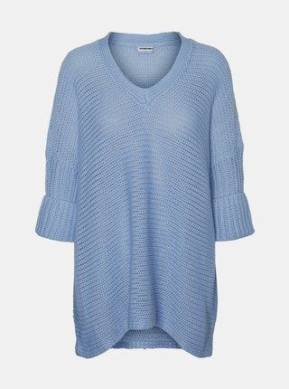 Modrý dámský svetr Noisy May